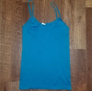 Terquoise Stretchy Tank Top
